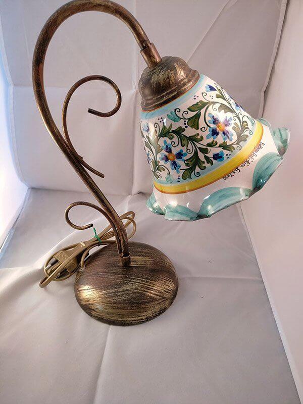 lume con inserto in ceramica